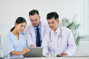 Doctors using RPM with sensor fusion technology